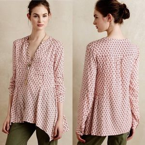 Anthropologie | Maeve Print Top